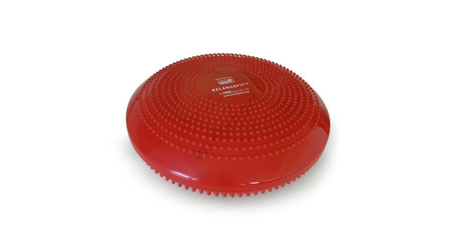 SISSEL Balancefit kétoldali tüskés egyensúlyozó párna piros ... 928afa7bca
